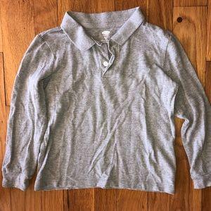 Old Navy Boys Long Sleeve Polo Shirt XS 5